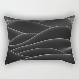 Dark sea of wax Rectangular Pillow