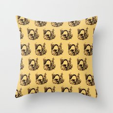 1900s Bulasky Throw Pillow