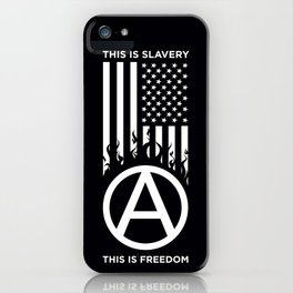 Anrchy is freedom iPhone Case