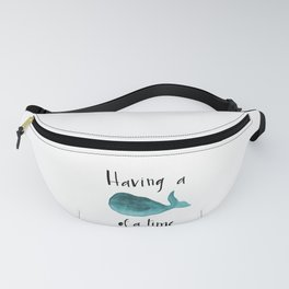 Whale of a time Fanny Pack
