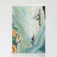 iceland Stationery Cards featuring Iceland  by Gina Rafaella