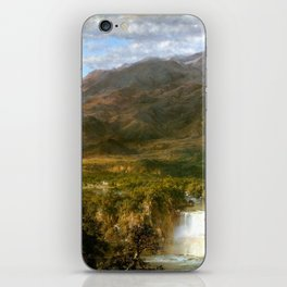 Heart Of The Andes iPhone Skin