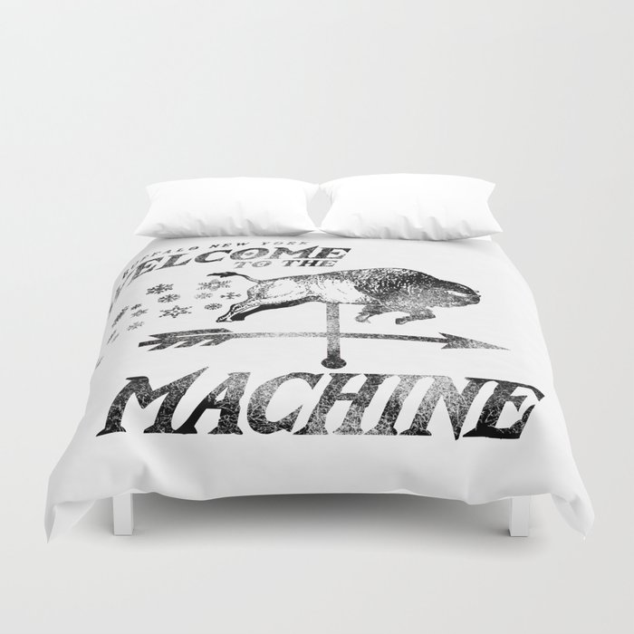LAKE EFFECT MACHINE Duvet Cover