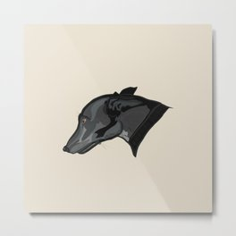 Grey Judith Metal Print