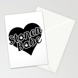Stoner Babe Stationery Cards