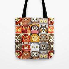 North American Owls Tote Bag