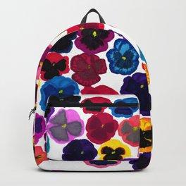 Plentiful pansies Backpack