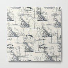 sailing the seas mode Metal Print