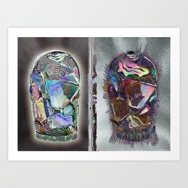 CANDY JARS Art Print