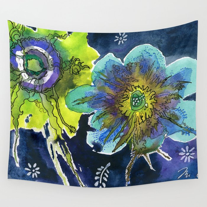Power of the Hour Wall Tapestry