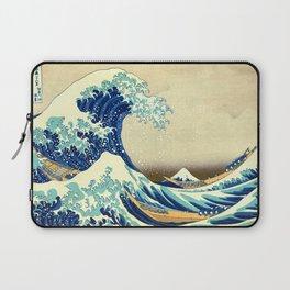 The Great Wave Off Kanagawa Katsushika Hokusai Laptop Sleeve