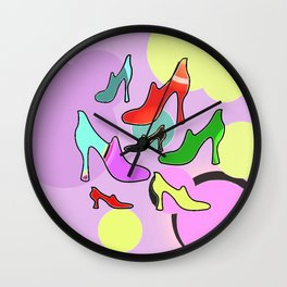 ShoeShop Wall Clock