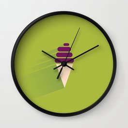 Soft Ice Cream Wall Clock