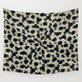 Metallic Camouflage Wall Tapestry