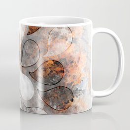 Metallic water drops Coffee Mug