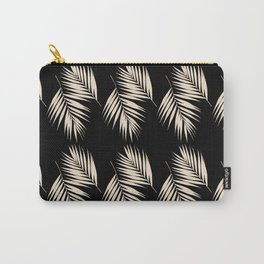 Palm Leaves Pattern #13 #Gold Touch #Black #decor #art #society6 Carry-All Pouch
