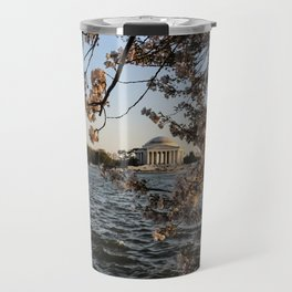 Cherry Blossoms at Tidal Basin Travel Mug