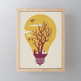 Unwind Framed Mini Art Print