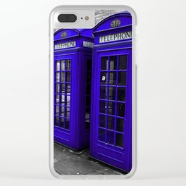 A Jolly Good Day in England Clear iPhone Case