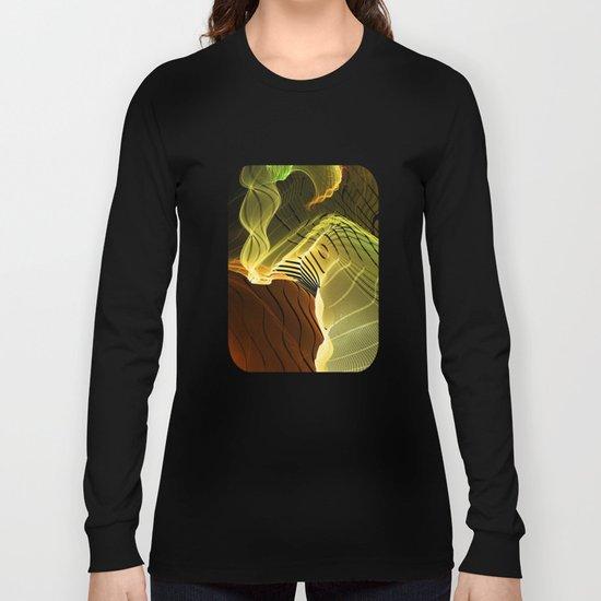 Elephant Bathing Long Sleeve T-shirt