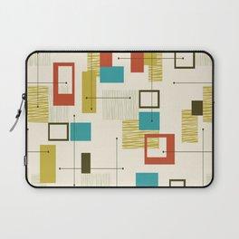 Mid Century Modern, Sputnik Pattern Laptop Sleeve