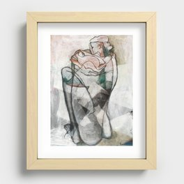 New Mother Recessed Framed Print