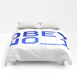 OBEY NO_1 Comforters