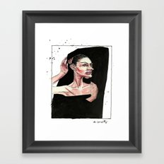 Do I Have To Stay Still? Framed Art Print