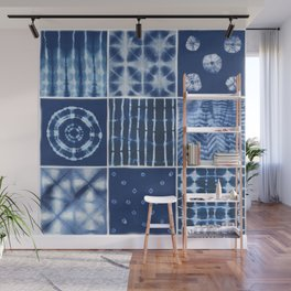 Shibori mix Wall Mural