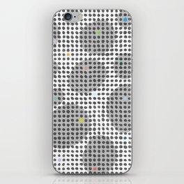 Spot Light in the Dark iPhone Skin