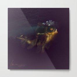 Undine fish Metal Print