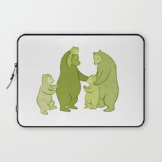 Bear family of Five Laptop Sleeve