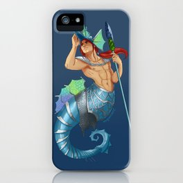 Seahorse Knight for Mermay iPhone Case