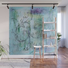 French Country Scroll Wall Mural