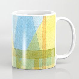 From the inside out -watercolor landscape Coffee Mug