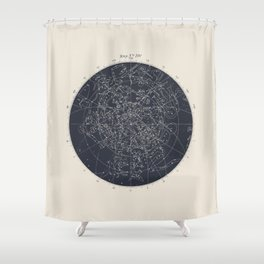 Map n XIV Shower Curtain