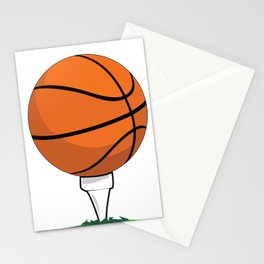 Basketball Tee Stationery Cards