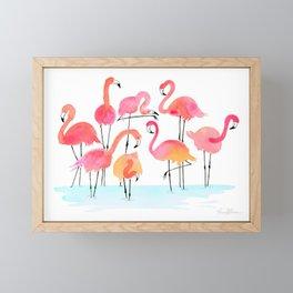 Flamboyance Framed Mini Art Print
