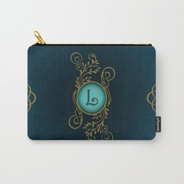Monogram L Carry-All Pouch