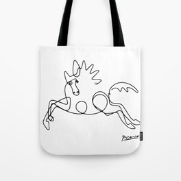 Pablo Picasso Horse Artwork Shirt, Sketch Reproduction Tote Bag