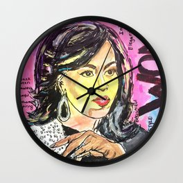 I am Woman: Michelle Obama Wall Clock
