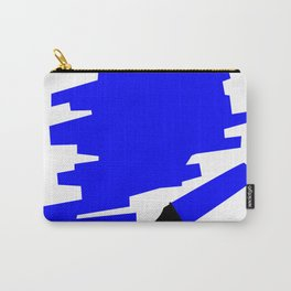 Dark Blue Marker Copy Space Carry-All Pouch