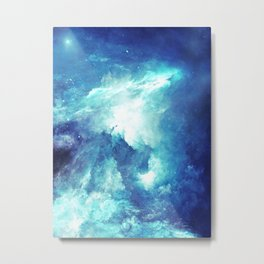 Stardust Path Metal Print
