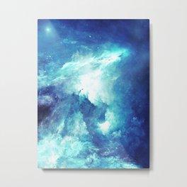 Stardust Path Metal Print