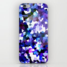 Ultraviolet Mountains Moon Love iPhone Skin
