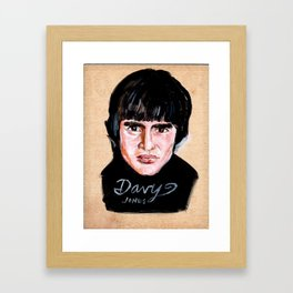 Davy Jones Framed Art Print