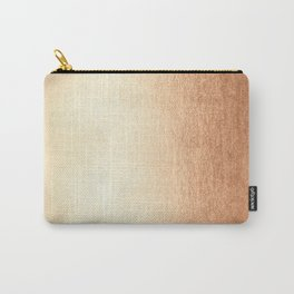 Simply Deep Bronze Amber Carry-All Pouch