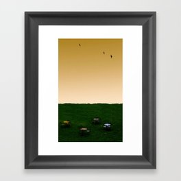 Everywhere and Nowhere Framed Art Print