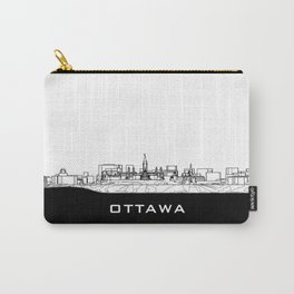 Ottawa Skyline Black Base Carry-All Pouch