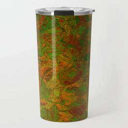 Abstract Garden Travel Mug